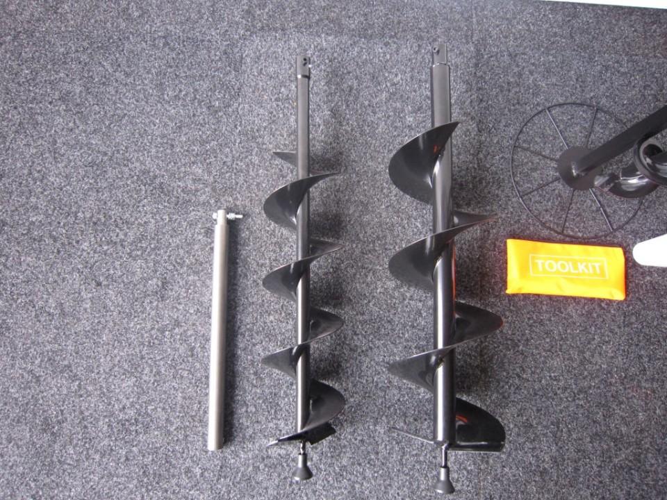 Grondboor 2-takt, benzine