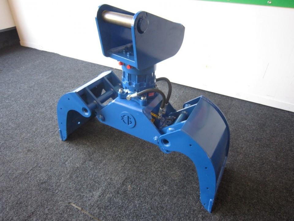 Sorteergrijper met rotator