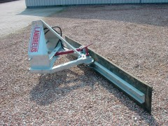 Rubberschuif 2.65 - hydraulisch verstelbaar