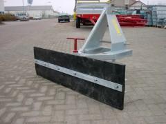 Rubberschuif 1.55 meter - verstelbaar